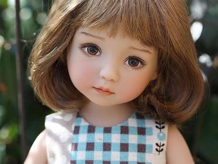 Удивительно нежные куклы Дианы Эффнер