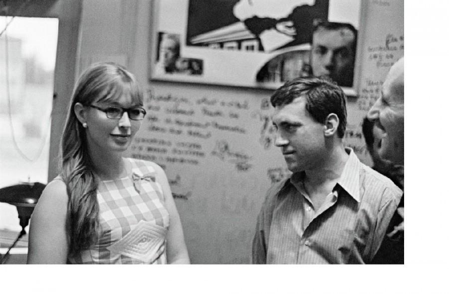Марина Влади и Владимир Высоцкий на 10-летии театра на Таганке. Таганка, высоцкий, праздник