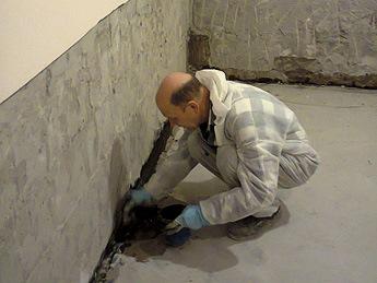 Грунтовая вода в подвале частного дома - что делать
