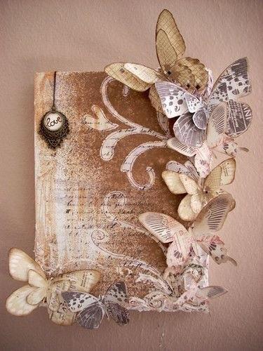 Бабочки для открыток своими руками. Идеи