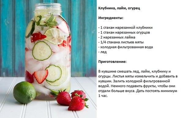 Напитки рецепты с в домашних условиях безалкогольный