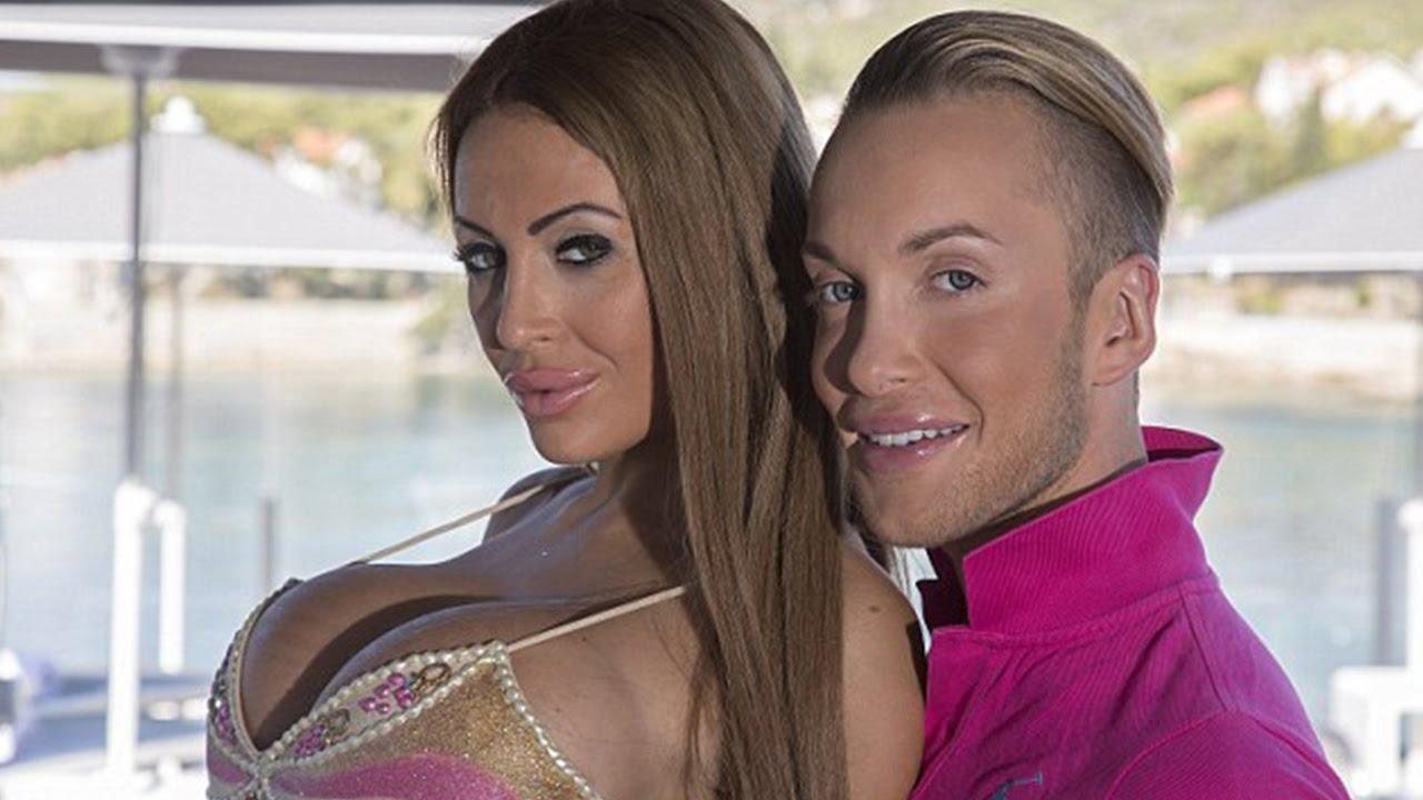 Россиянка с парнем потратили $300 000, чтобы походить на Барби и Кена