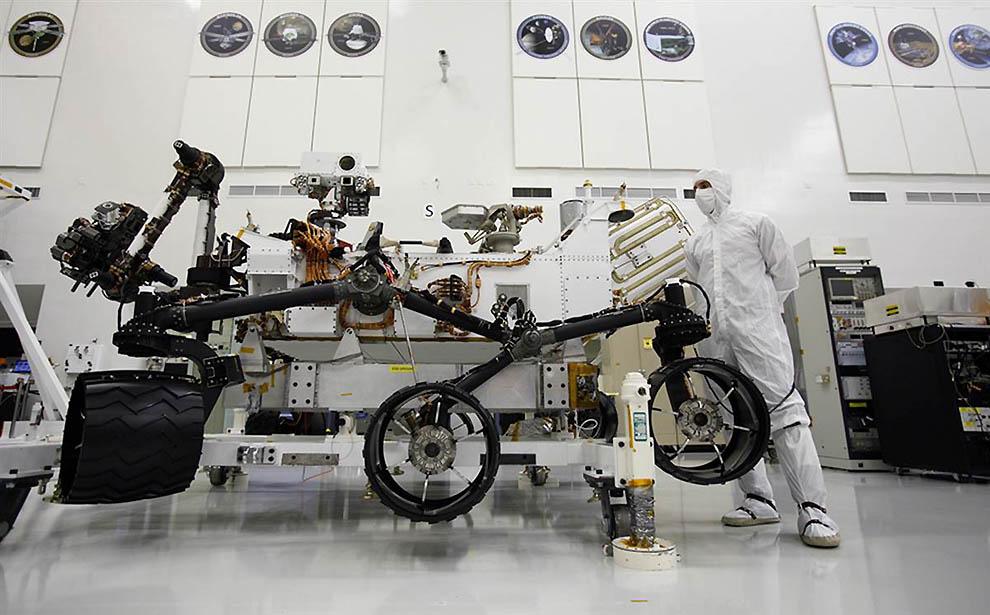 8200 Марсоход Curiosity отправился в полет