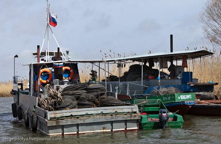 астраханские рыболовные сети