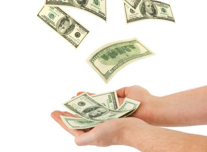 денежная приманка для кошелька