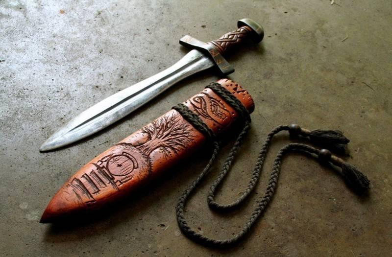 Чем воевали древние славяне (9 фото)