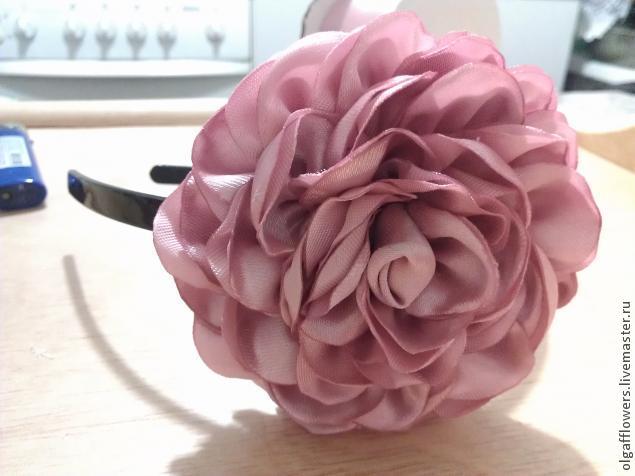 Очень красивая роза. МК