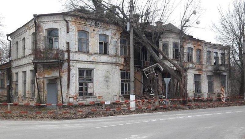 Дореволюционные постройки Чернобыля