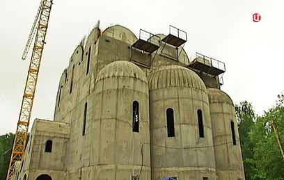 В Москве завершается строительство храма в честь Двенадцати Апостолов