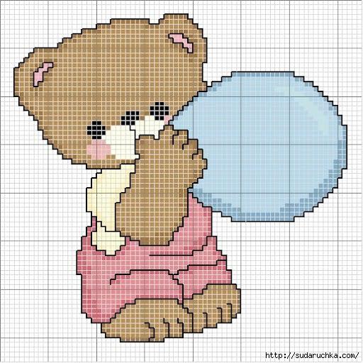 urso com 1 balão (512x512, 220Kb)