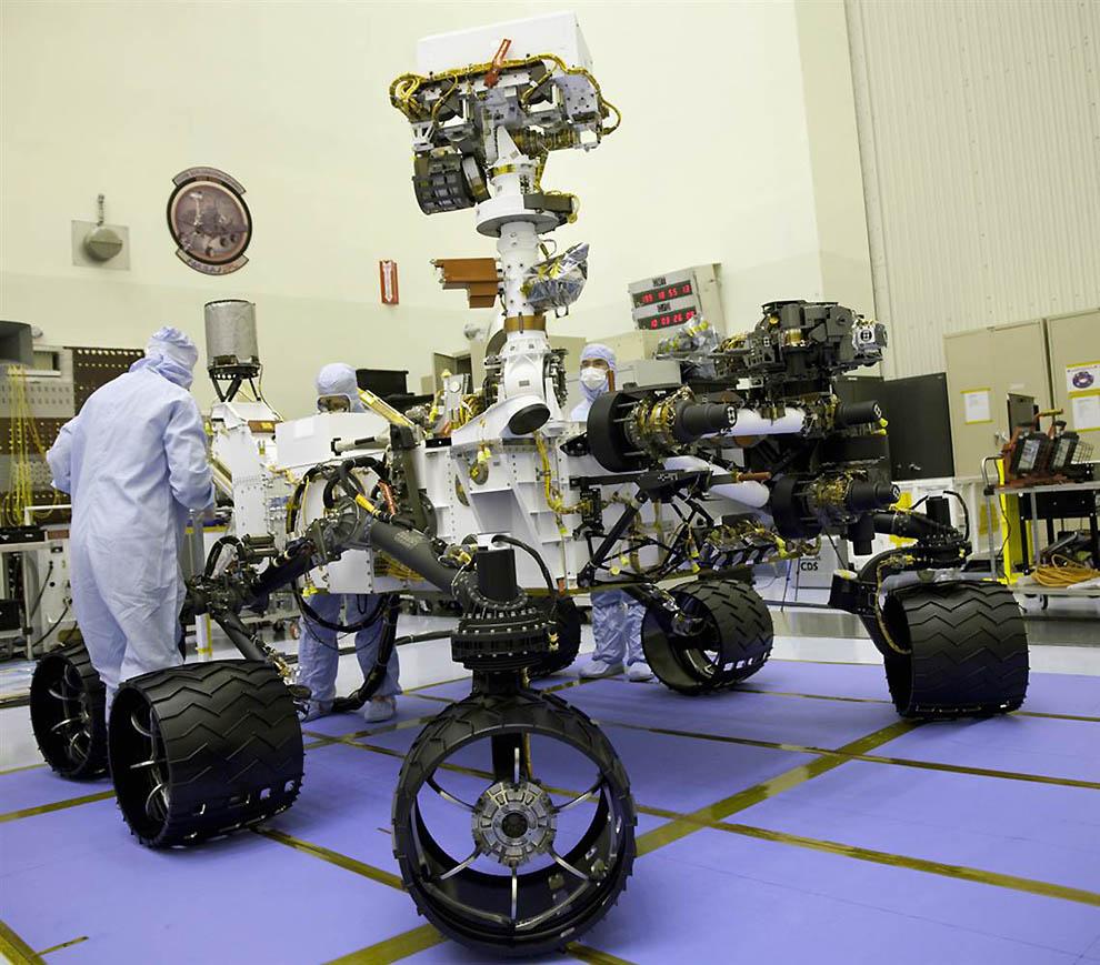 3364 Марсоход Curiosity отправился в полет