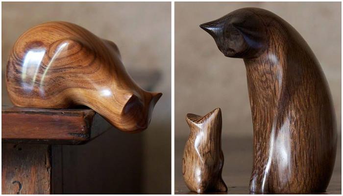 Идеальный минимализм: милые зверушки, поражающие своей элегантностью