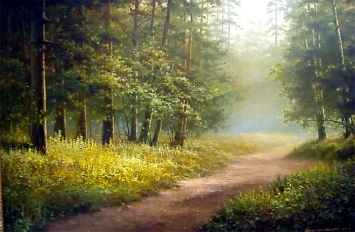 пейзажи Вячеслав Хабиров - 05