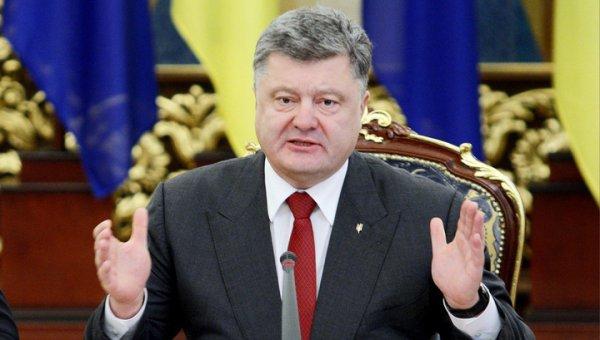 Порошенко в новогоднем обращении пообещал: у Путина ничего не получится