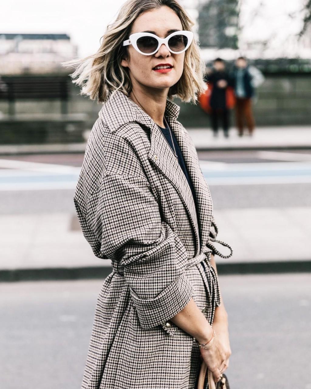 Модный ориентир: Клетчатое пальто