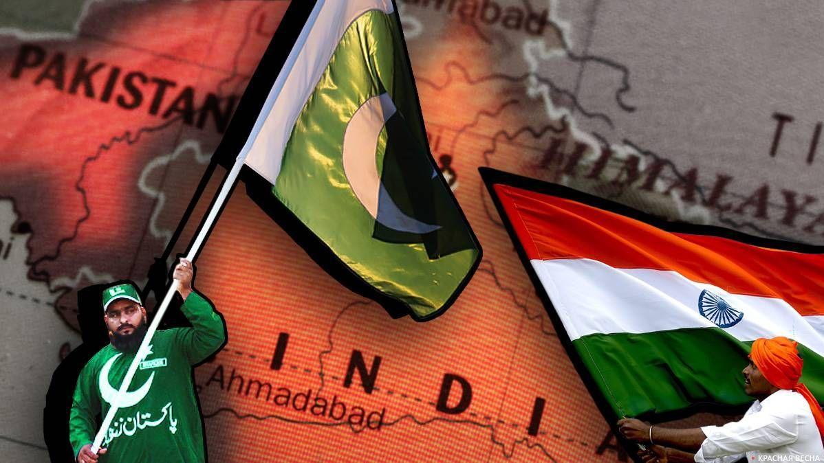 Индийские ВВС нанесли бомбов…