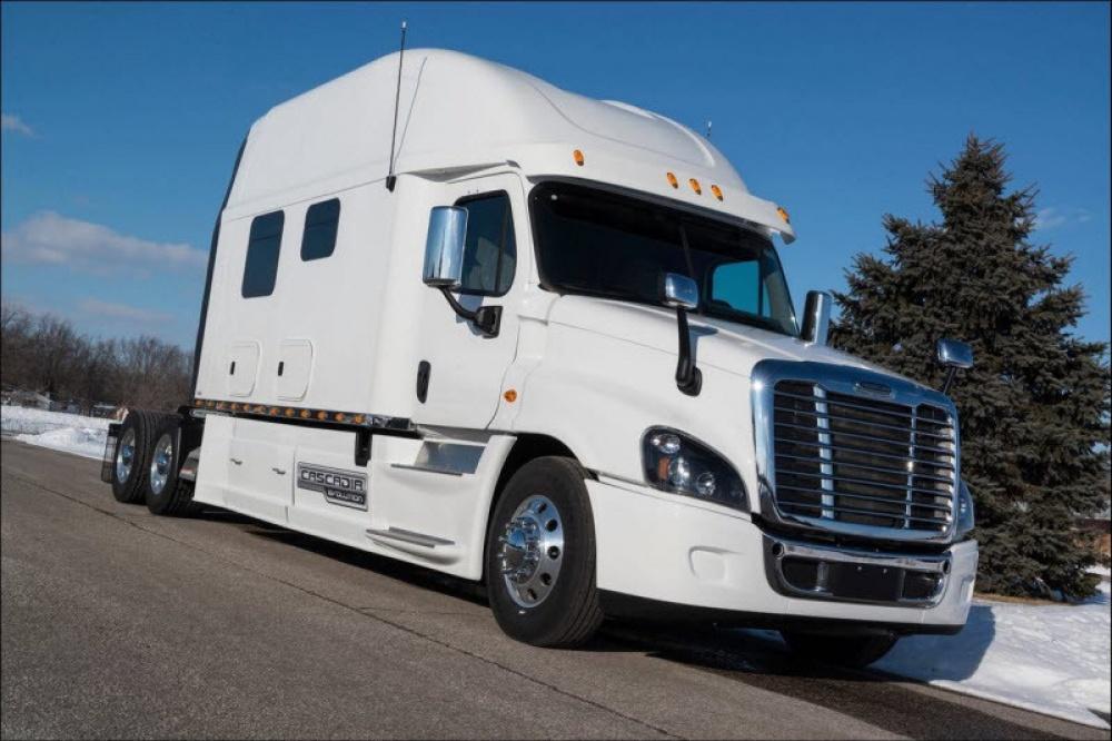 Эти грузовики — настоящий рай для дальнобойщика