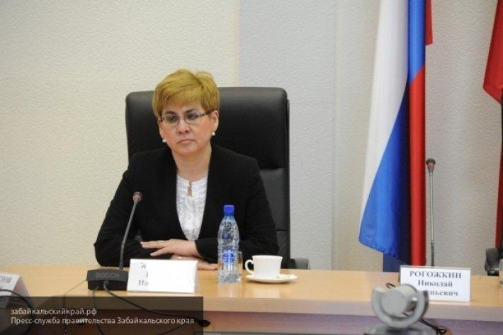 Наталья Жданова ушла в отставку с должности губернатора Забайкалья