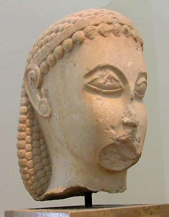 Статуя времен Солона