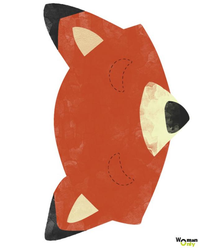 Новогодние маски из бумаги - праздник уже с вами маска лисы