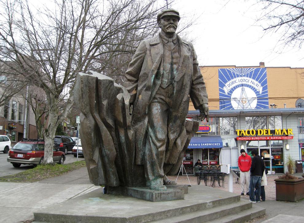 Ленины встречаются даже в США