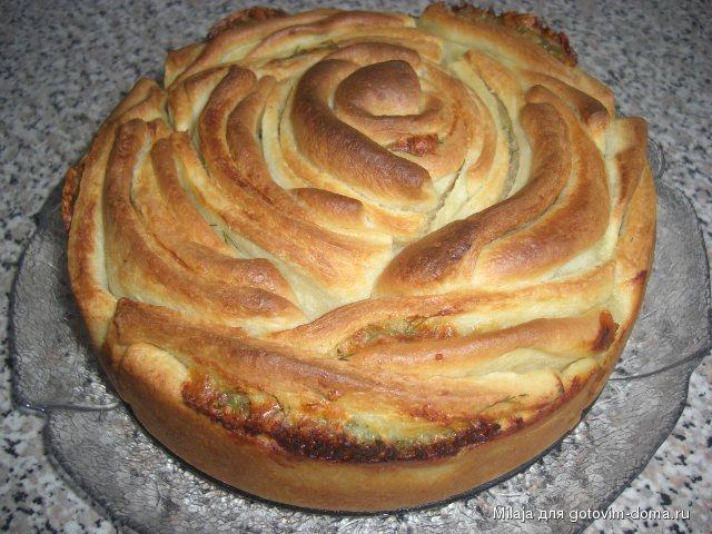 Хлеб Роза с сыром и укропом 1.JPG