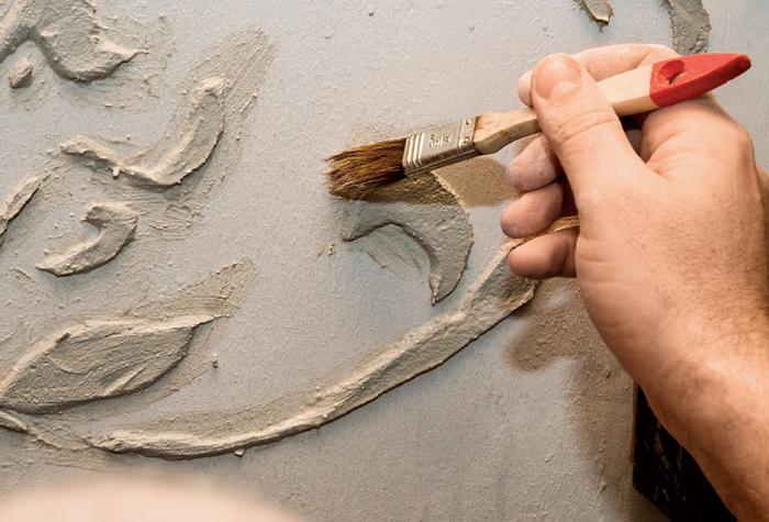 Декорируем стены объемной отделкой (4) (700x475, 336Kb)