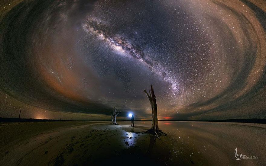 Cамые красивые звездные небеса со всего мира