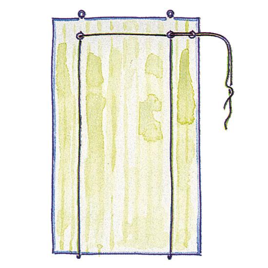 Как сделать рулонную штору своими руками фото
