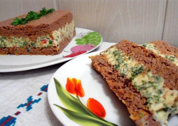 Потрясающе вкусный паштет из печени и сыра. Блюдо, от которого невозможно оторваться!