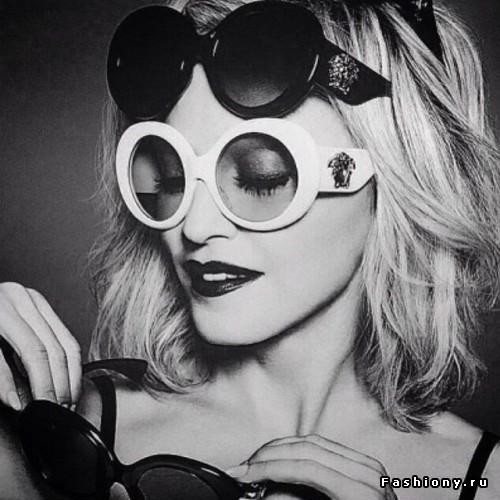 Мадонна для Versace