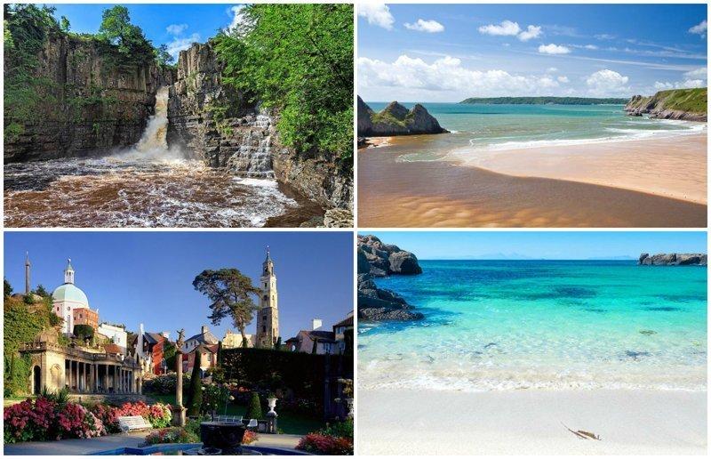 Угадаете, где находятся эти 10 потрясающе красивых мест? в мире, красивые места, мир, неожиданно, пляж, путешествия, туризм, фото