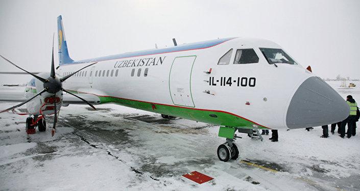 Самолет Ил-114-100. Архивное фото