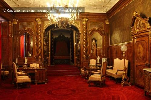 Замок Пелеш - внутреннее убранство