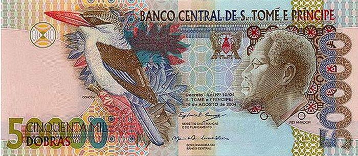 Сан-Томе и Принсипи — 50 000 добра деньги, интересное, красота, рейтинг