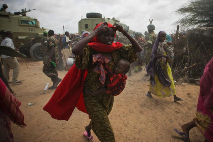 Women in Somalia.