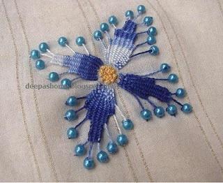 Плетёная вышивка (Diy)