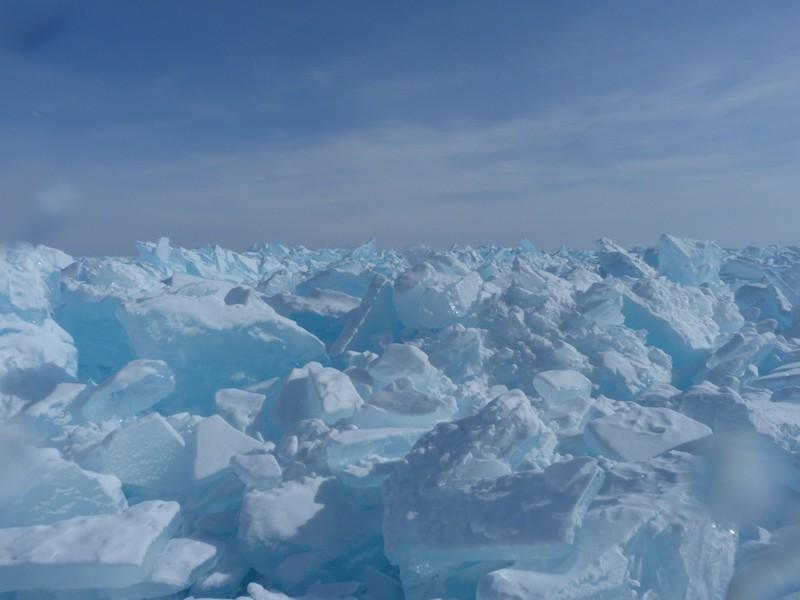 1. Ледяные сопки. байкал, загадки, озеро