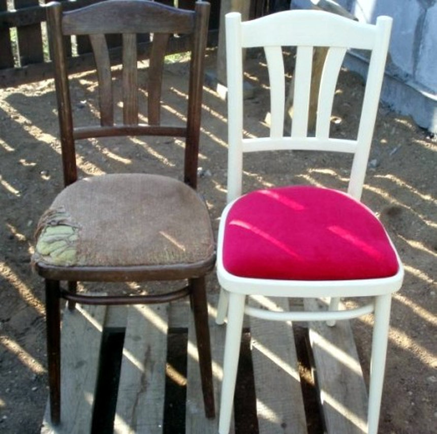 Декор стульев своими руками фото