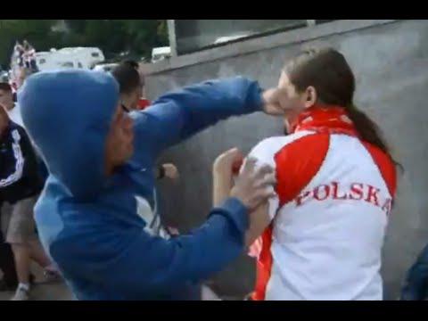 """Ответ от российских болельщиков за """"русска курва""""."""