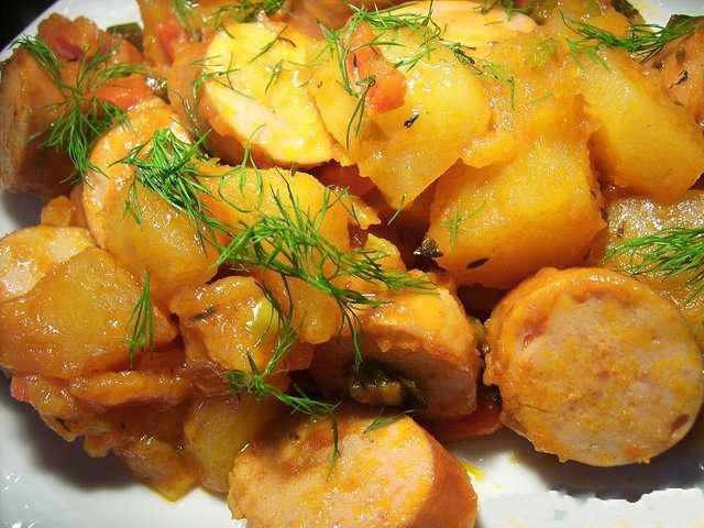 Рагу мясное с картофелем рецепт с фото