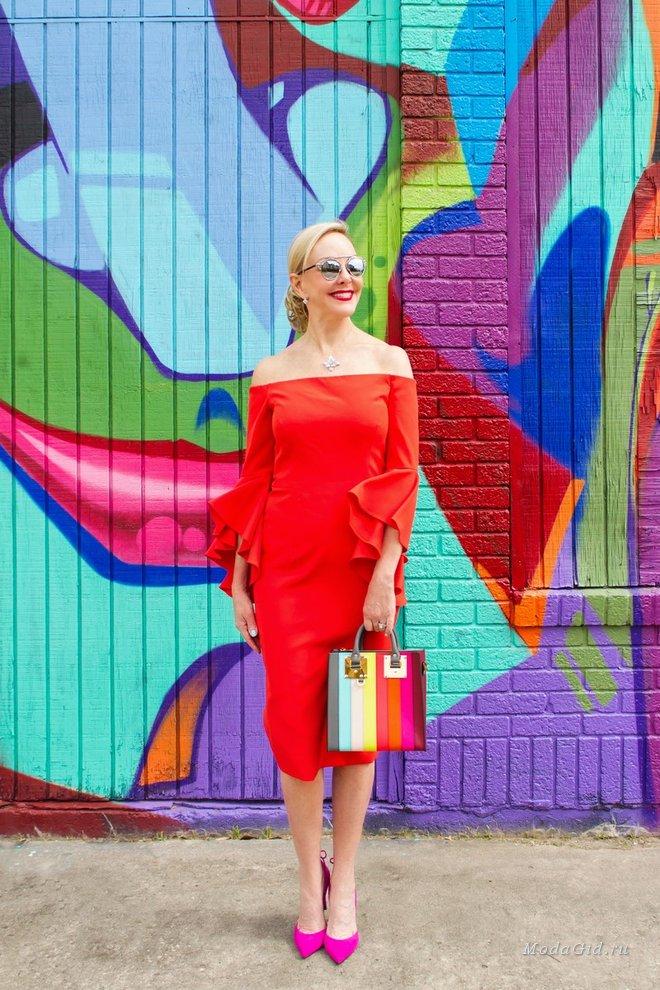 Мода для женщин старше 60 от блогера Sheree Frede