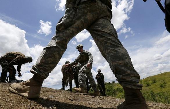 Американские солдаты отправляются на Украину