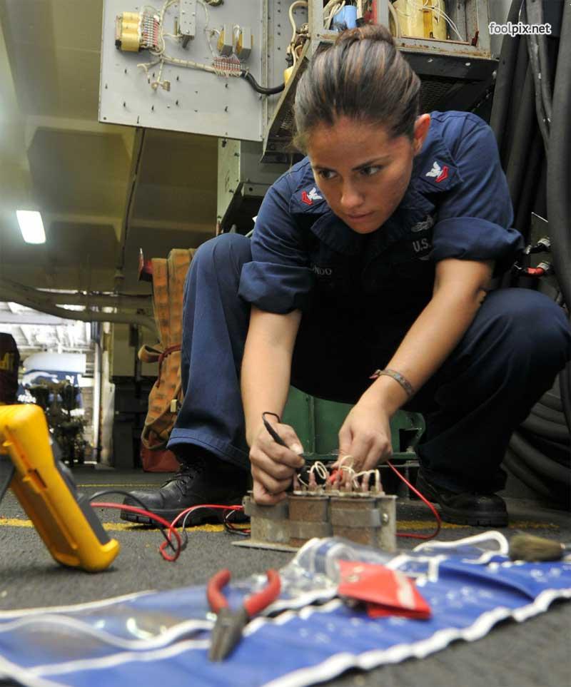 Девушки на службе в армии фото 66