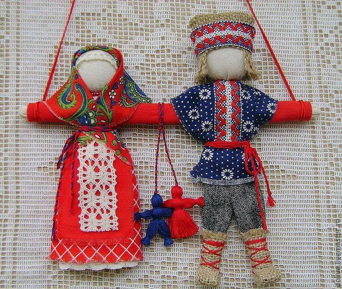 Кукла оберег для семьи своими руками