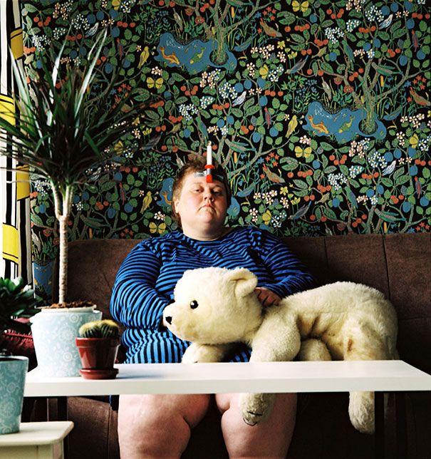 спорные автопортреты, автопортреты финского фотографа,  Ииу Сусирая, Iiu Susiraja