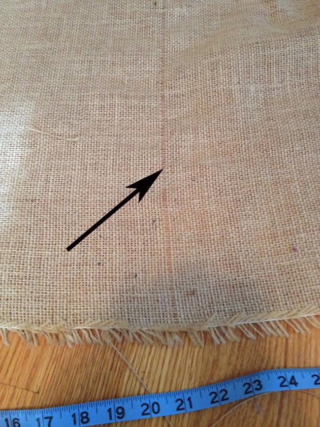 Как ровно отрезать ткань