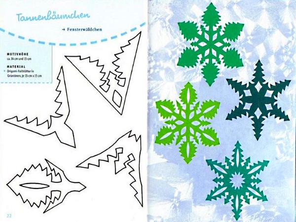 Новогодние снежинки своими руками схемы шаблоны