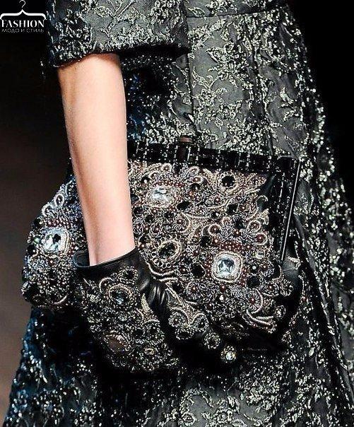 Царская роскошь в осенне-зимней коллекции Dolce&Gabbana