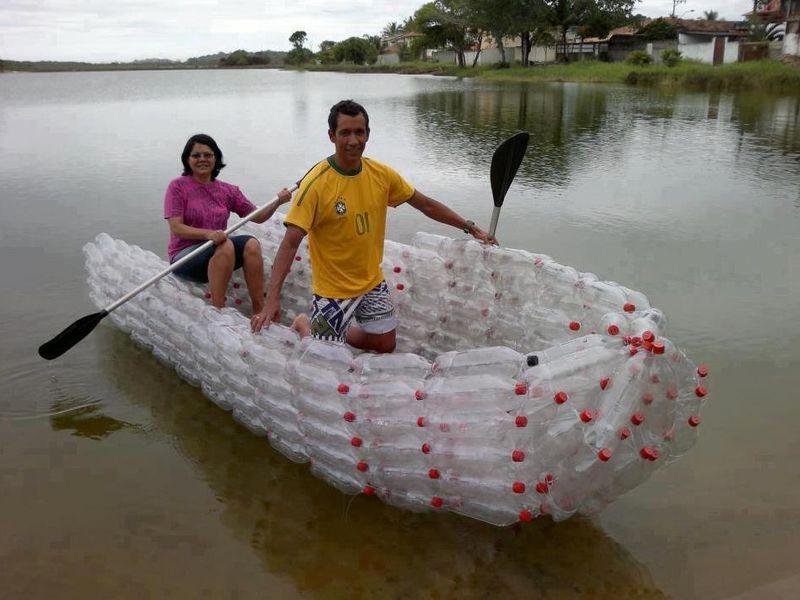 Как сделать лодку из пластиковой бутылки своими 34